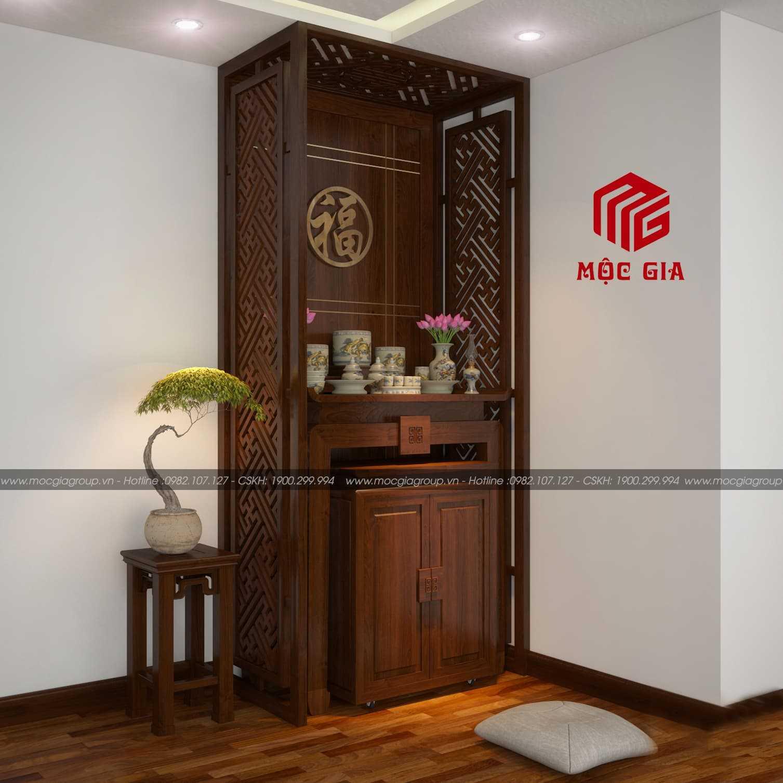 Bàn thờ thiết kế hiện đại cho nhà chung cư