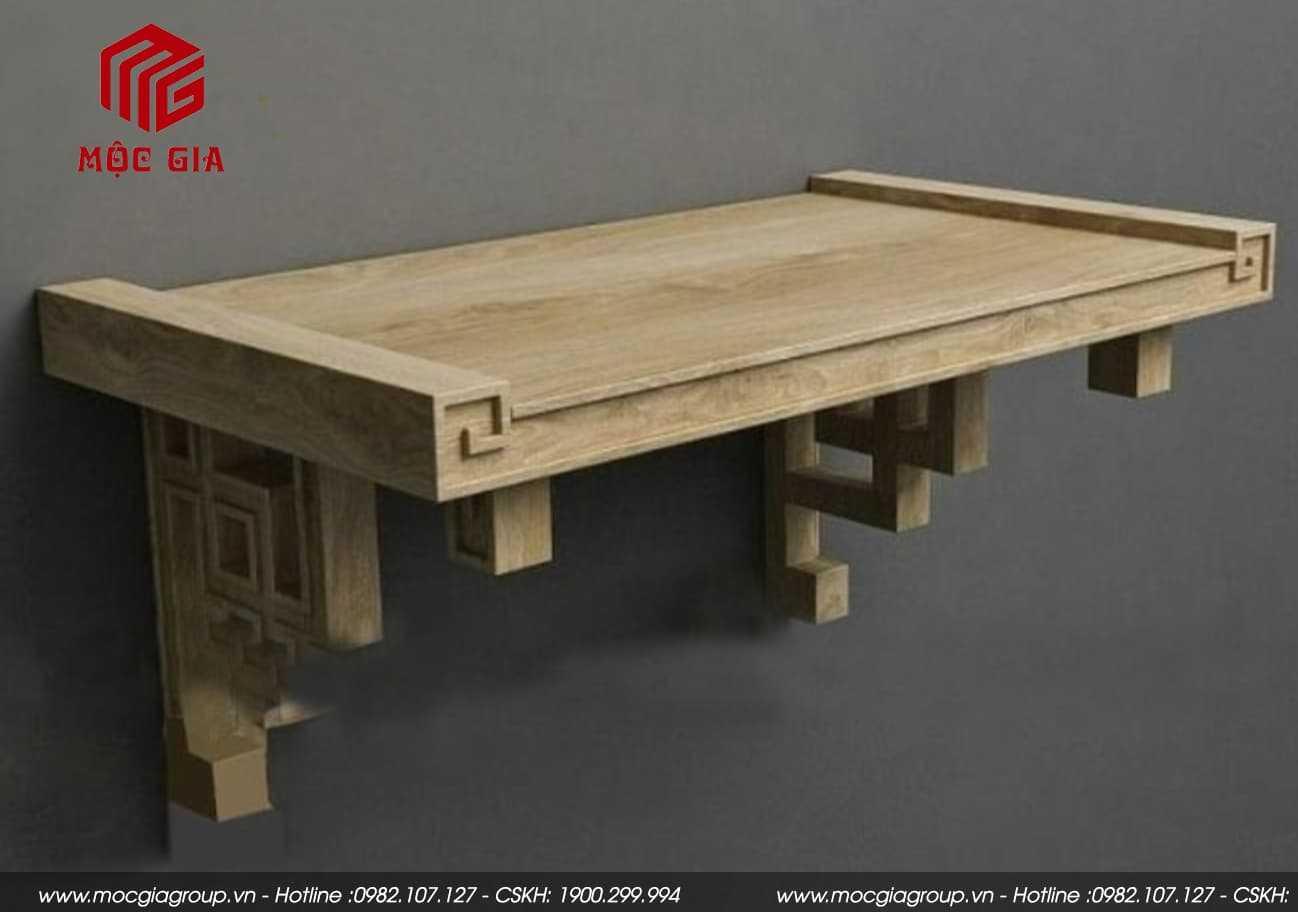 Bàn thờ gỗ Sồi đang là sự lựa chọn hàng đầu của nhiều gia chủ