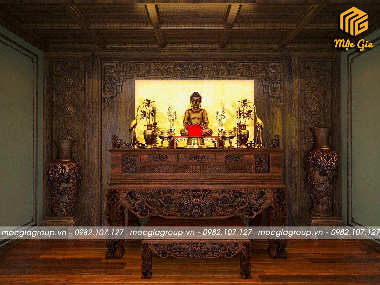 Nghệ thuật tranh trúc chỉ trong không gian thờ
