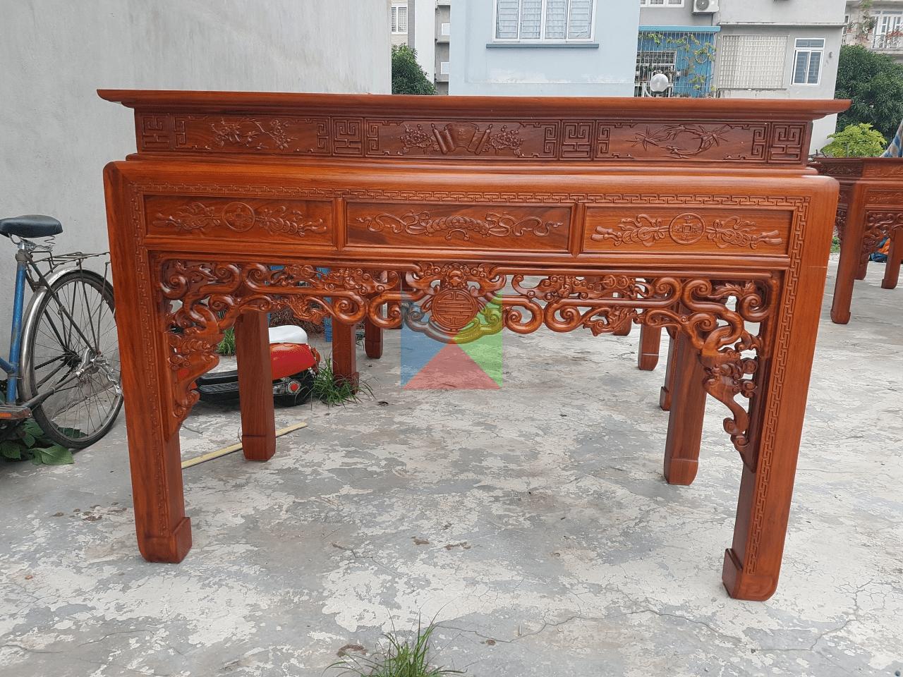 Án gian thờ gỗ Gụ