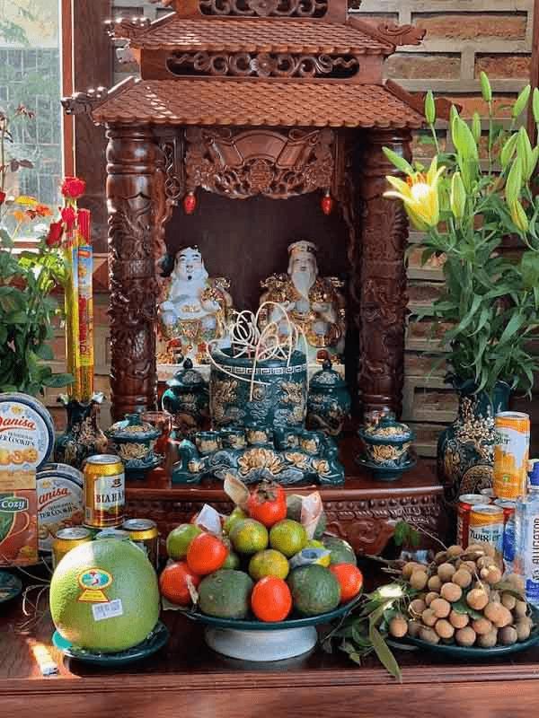 Bài trí bàn thờ Ông Địa đúng nghi lễ