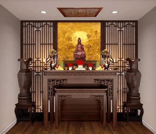 Bàn thờ Phật là bàn thờ được thiết kế đặc biệt