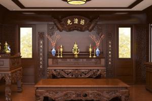 Cách sắp xếp bàn thờ gia tiên đúng cách