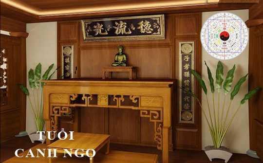 Hướng bàn thờ tuổi Canh Ngọ