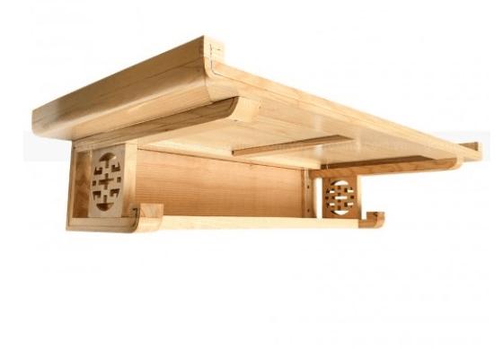 Bàn thờ chung cư gỗ Sồi