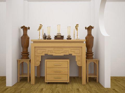 Bàn thờ gỗ Sồi có tốt không đang là câu hỏi của nhiều gia chủ