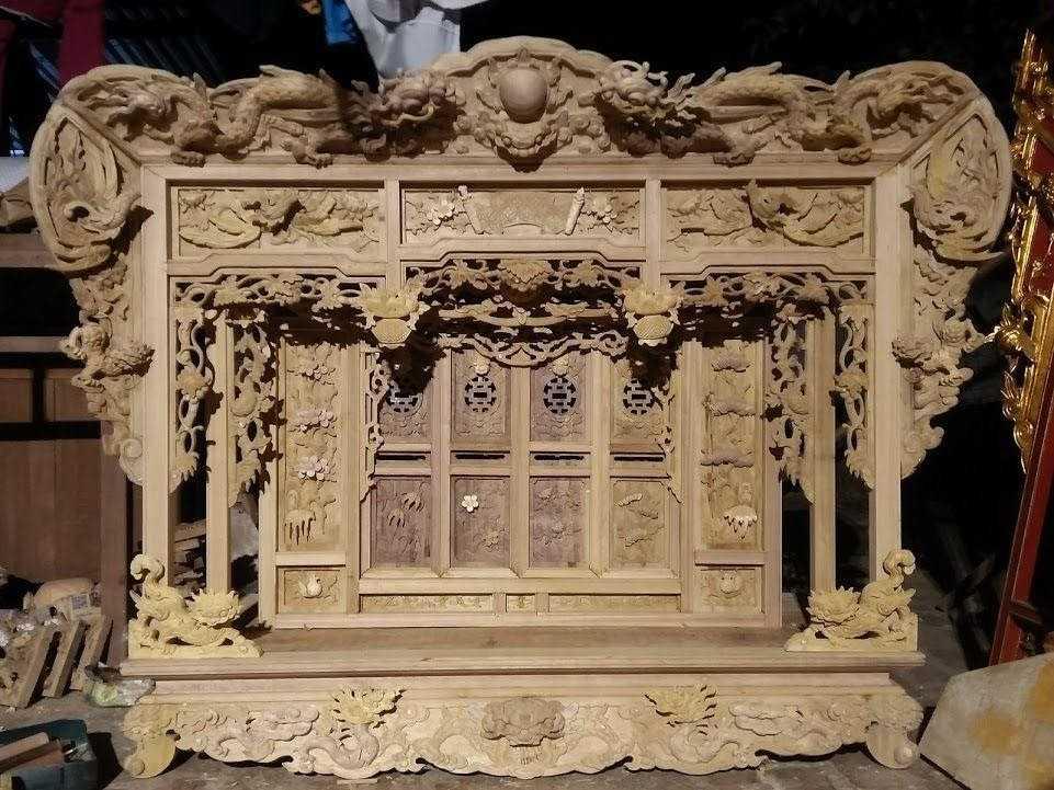 Khám thờ gỗ