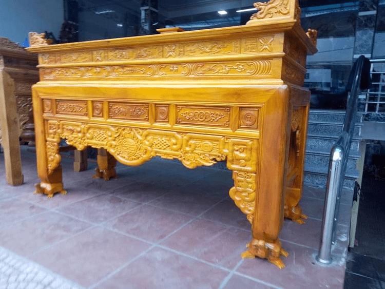 Lựa chọn kích thước bàn thờ cho phù hợp