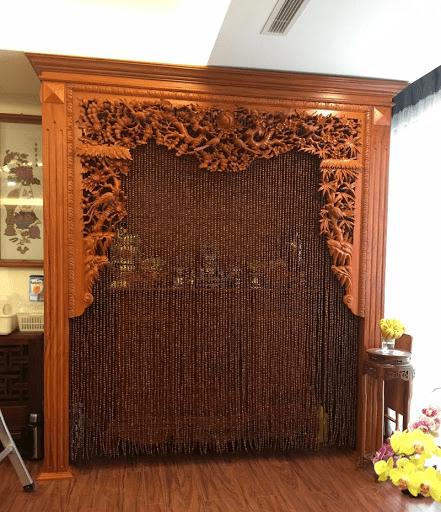 màu rèm cửa phòng thờ