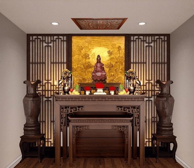 Bàn thờ thể hiện nét đẹp văn hóa tâm linh