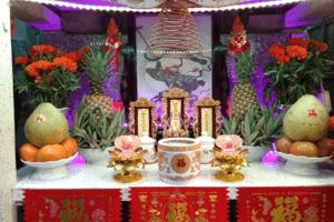 bàn thờ người Hoa
