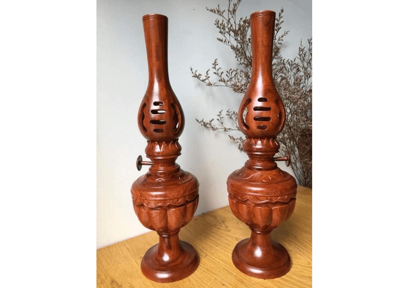 Đèn thờ gỗ có rất nhiều ưu điểm nổi bật