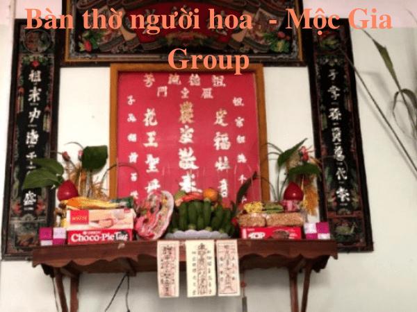 Bàn thờ người hoa khác người Việt như thế nào đang được nhiều gia chủ quan tâm