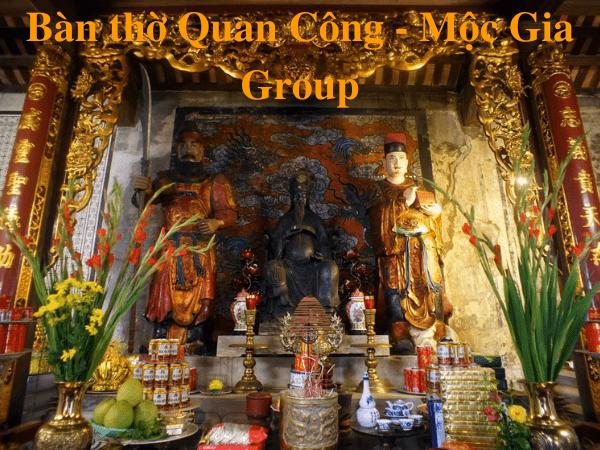 Bàn thờ Quan Công - Mộc Gia Group