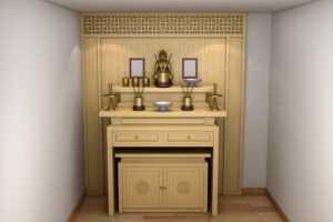 tủ thờ Phật
