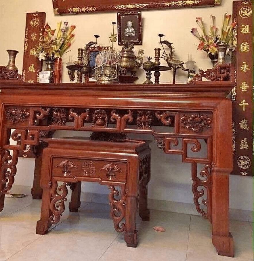 Mẫu bàn thờ cha mẹ đẹp