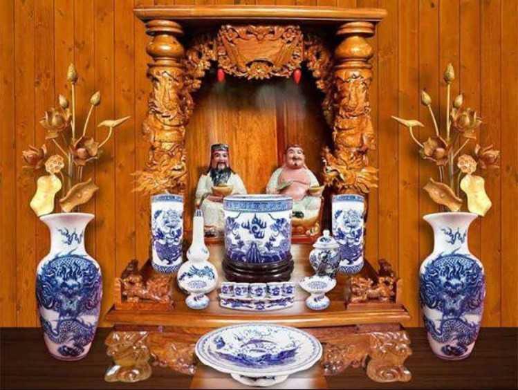 Mua bàn thờ Thần Tài
