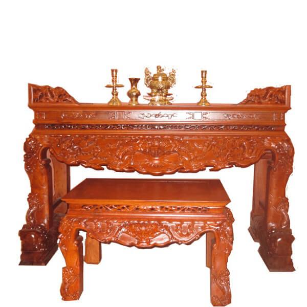 Sập thờ làm từ gỗ Mít