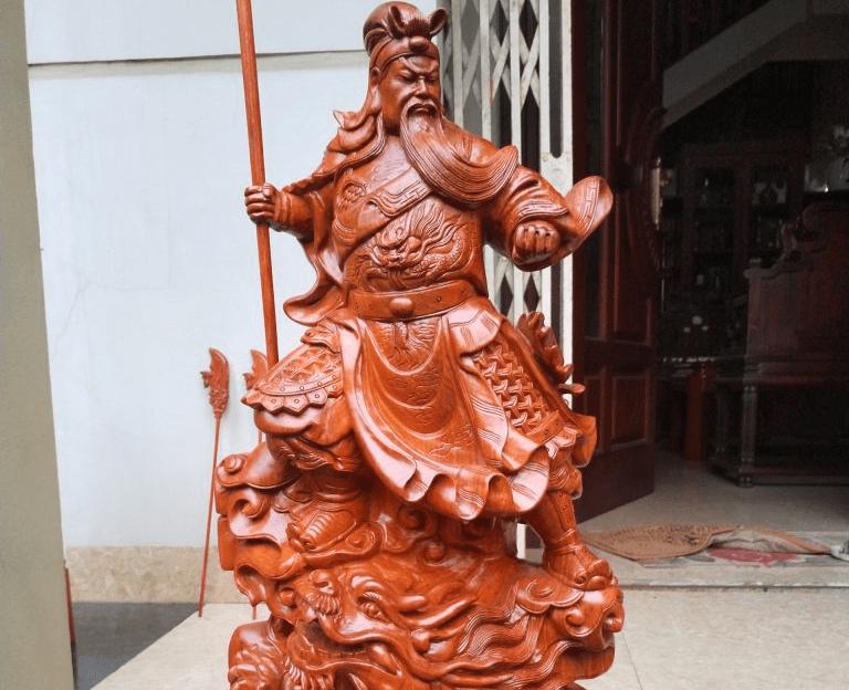 Sự uy nghi của thần Quan Công