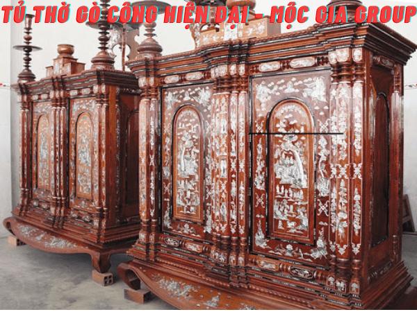 Tủ thờ Gò Công truyền thống