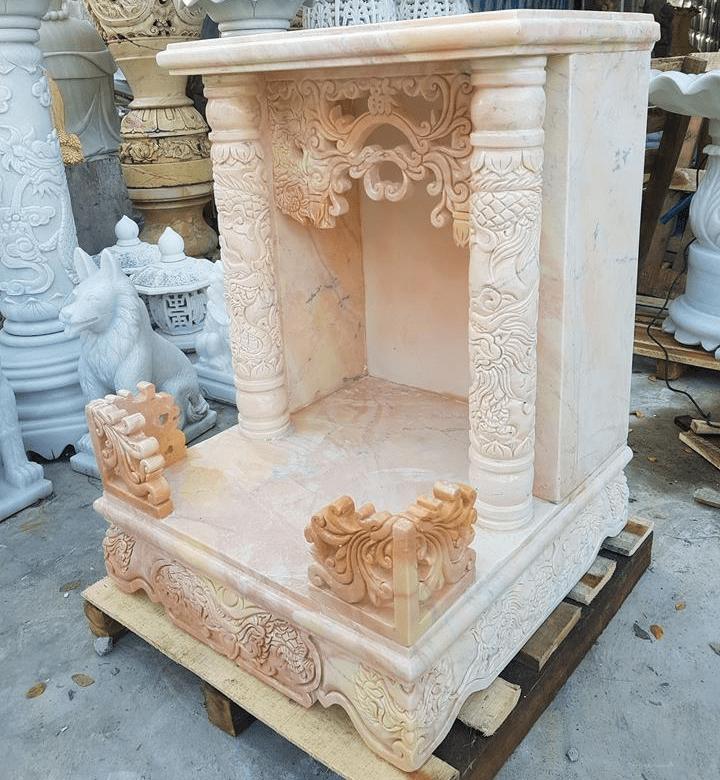 Tủ thờ Ông Địa bằng đá