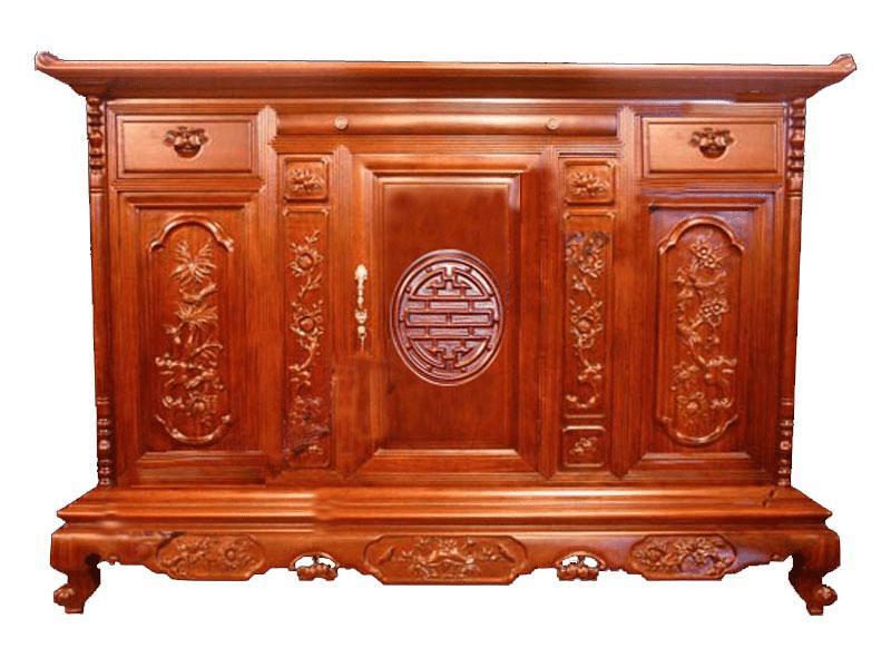 Tủ thờ gỗ Hương - sự lựa chọn đúng đắn