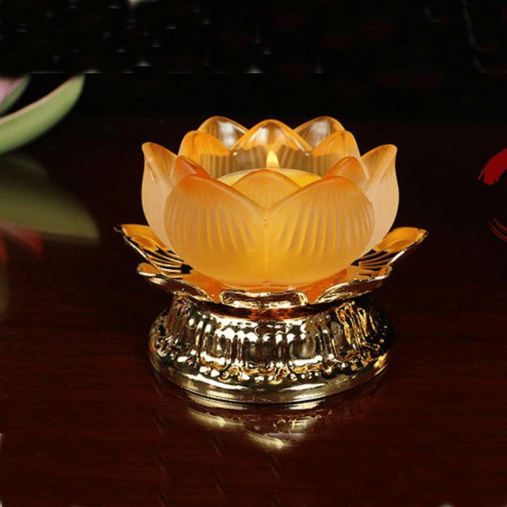 Đèn thờ Phật từ nến