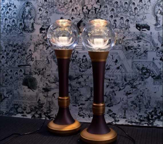 Mẫu đèn thờ Phật cao cấp
