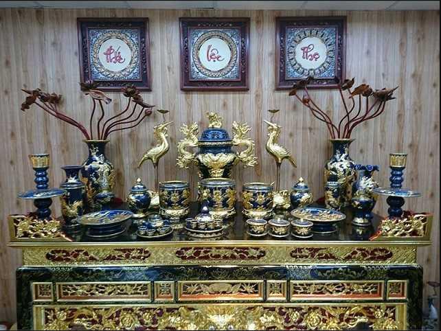 Số lượng bát hương trên bàn thờ
