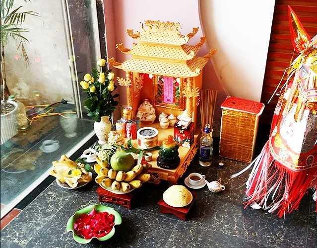 Cần đặt bàn thờ Thần Tài ở nơi sạch sẽ, trang nghiêm