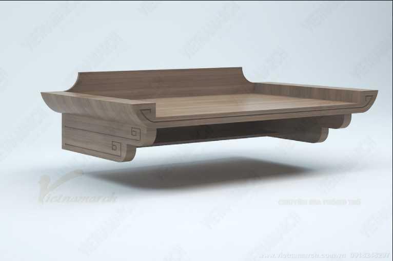 Hướng và kích thước bàn thờ treo theo quẻ mệnh