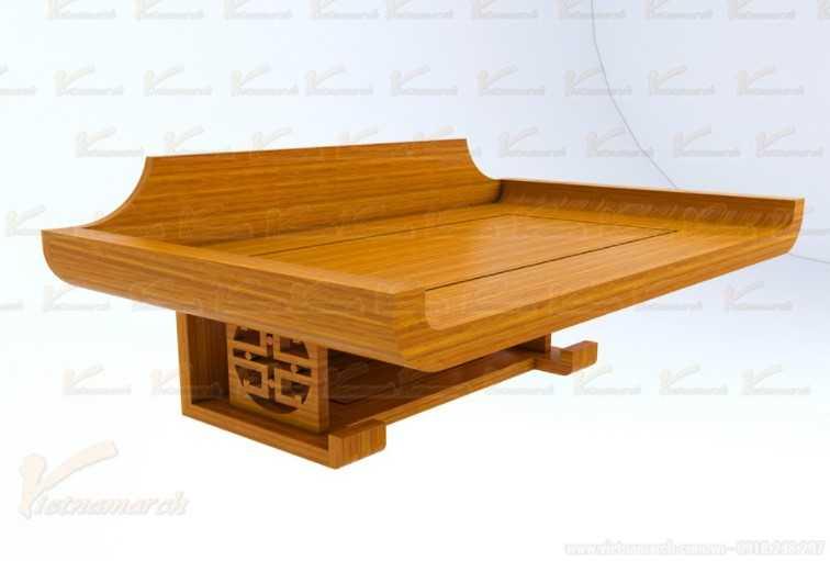 Kích thước bàn thờ treo tường chuẩn phong thủy