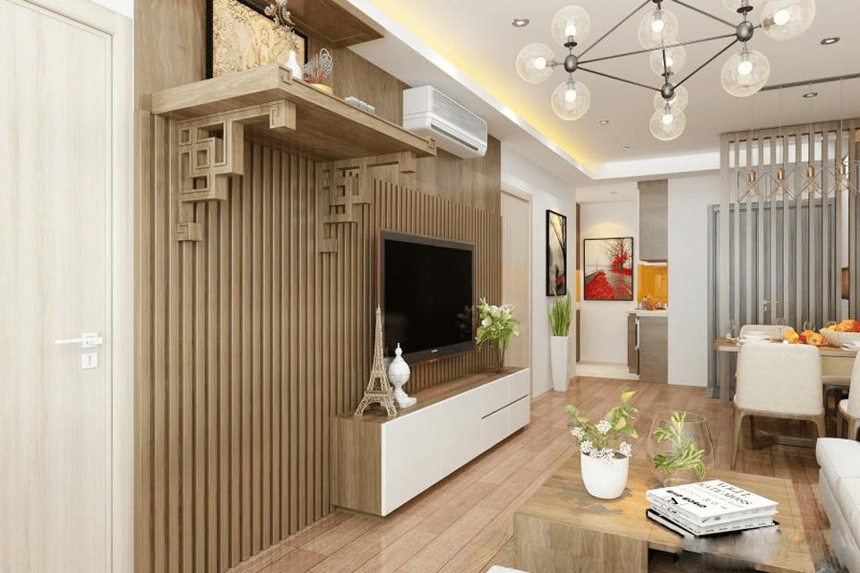 Lựa chọn kích thước bàn thờ chuẩn phong thủy cho nhà chung cư